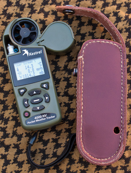 Weather Meter and Case